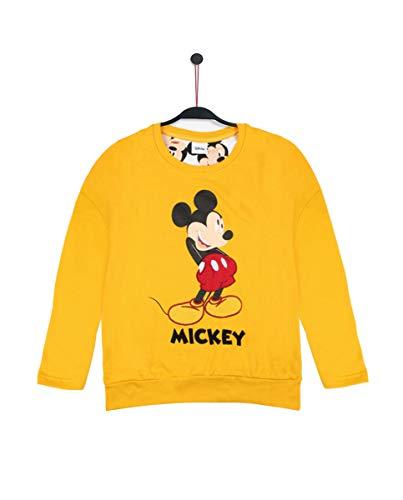 Disney Sudadera Manga Larga Mickey para Niña