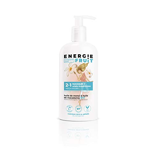 Energie Fruit Masque + après-shampooing monoï et huile de macadamia - Le flacon de 300 ml