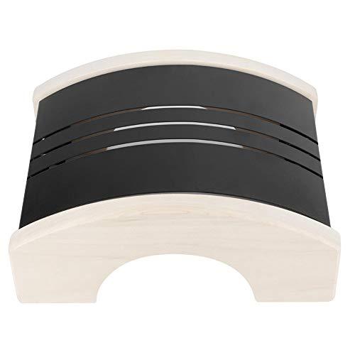 Couverture légère de sauna acier inoxydable peuplier bois anti-explosion abat-jour couvercle léger accessoires de sauna