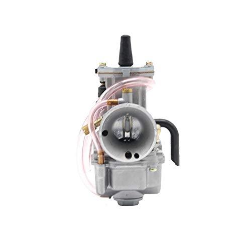 CSQIANG - Piezas de motor de admisión de carbohidratos para todo terreno, scooter, ATV UTV 50-200CC 24 mm