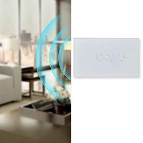 Meiyya Control inalámbrico, Interruptor de Pared Inteligente teledirigido de la aplicación para el hogar Inteligente para STB