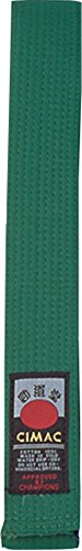 Cimac Kampfsportgürtel, verschiedene Farben, 240-320cm grün grün 240 cm