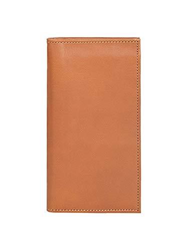 Scully Men's Leather Ranger Slim Breast Pocket Secretary Wallet Tan
