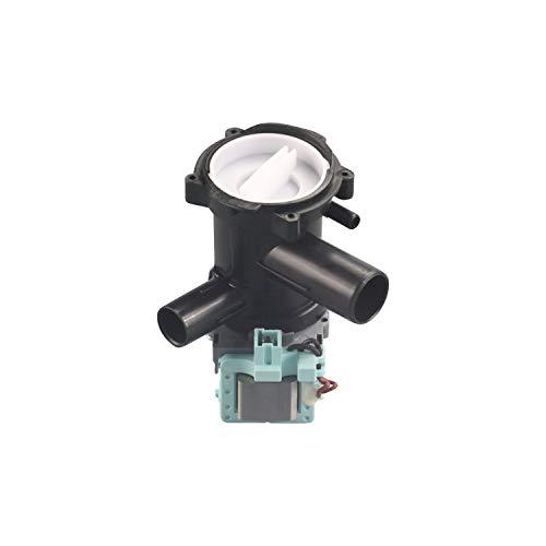 EVH-XTRA® Laugenpumpe, Ablaufpumpe Waschmaschine passend für Bosch Maxx-Serie, Siemens IQ300-Serie vergleichbar mit Orig.-Ersatzteil-Nr. 145787 bzw. 00145787, 144978 bzw. 00144978
