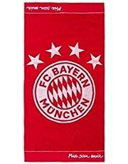 FC Bayern München Toalla de mano con emblema, 100 x 50 cm