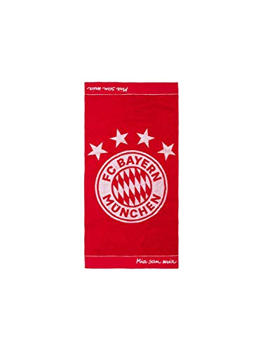 FC Bayern München Handtuch Emblem 100 x 50 cm