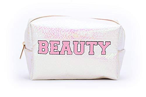 Tri-Coastal Design Pochette Porta Trucchi in Glitter, Perfetta per Contenere il Make-Up o da Usare come Astuccio o Borsina da Viaggio Portatutto (beauty)