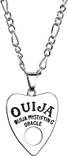 ZJJLWL Co.,ltd Necklace Vintage Women Men Gothic Shape Board Pendant Chain Necklace Jewelry