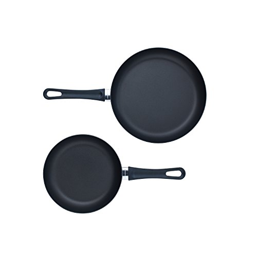 Scanpan, Black Classic 2 Piece Fry Pan Set