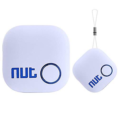 Schlüsselfinder Key Finder Luxsure Anti Verloren Tracker Bluetooth Tracker GPS Locator Bidirektionale Alarm Erinnerung für Telefon Haustiere Keychain Wallet Gepäck Rucksäcke, Smart Tag mit APP