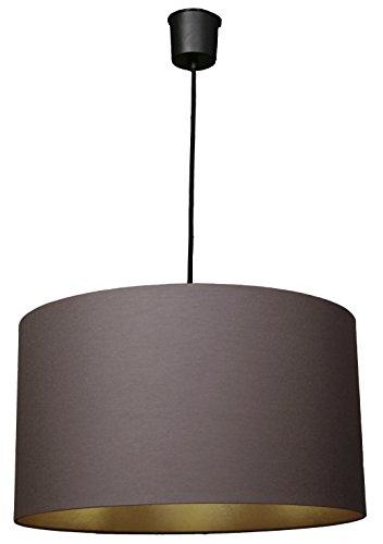 Waldi Leuchten 71903.0 Stockholm - Lámpara de techo (44 cm), color dorado y gris