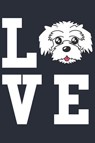 Malteser Hund Notizbuch: Ein perfektes Geschenk für Malteser Besitzer