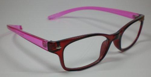 Praktische leesbril leeshulp lange beugel +3,0 diop. Unisex kijkhulp design 1
