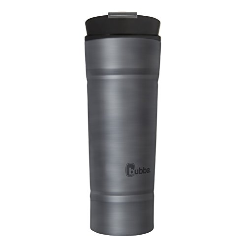 Bubba HT Vacuum-Insulated Stainless Steel Travel Mug, 20 oz, Smoke