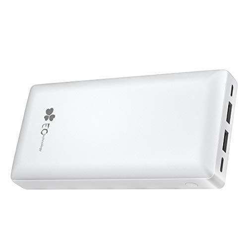 EC Technology Powerbank 26800mAh Powerbank Externer Akku mit Type C & Micro 2 Eingänge und 2 Ausgänge USB Port, Tragbares Ladegerät, Große Kapazität Power Bank für Handy, Tablet usw