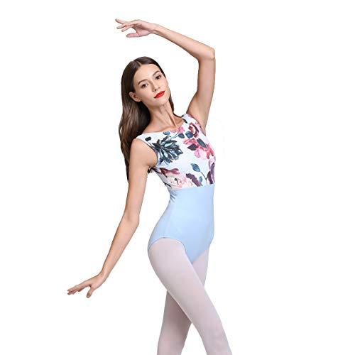 ModLatBal Womens Tank Leotards for Ballet Dance Gymnastics Bodysuit