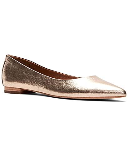 [フライ] シューズ 25.5 cm パンプス Women's Sienna Pointed Ballet Flats Bronze レディース [並行輸入品]