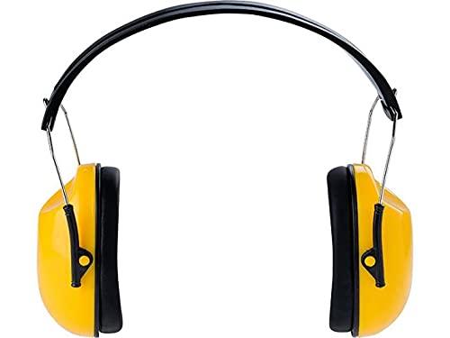 DRELL BHP - Auriculares de protección (frecuencia SNR, 29 dB, nivel de atenuación: frecuencia NRR - 25 dB)