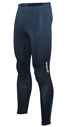 Joma Elite Pantalones Largos, Hombres, Marino-Negro-300, S