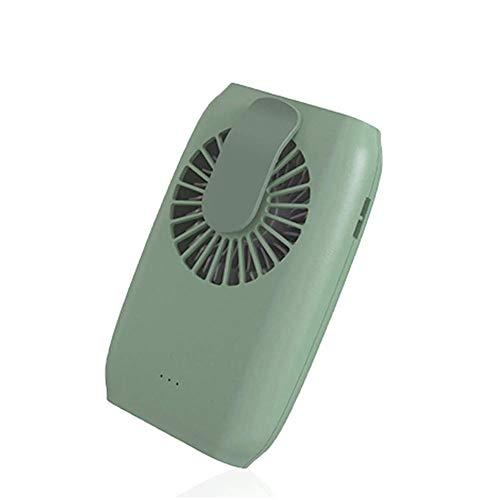 Fanáticos personales Mini fan, ventilador de pestañas recargables USB, 2000 MAH USB Ventilador pequeño recargable, clip de aire acondicionado de enfriamiento de 3 velocidades de viento en ventilador p