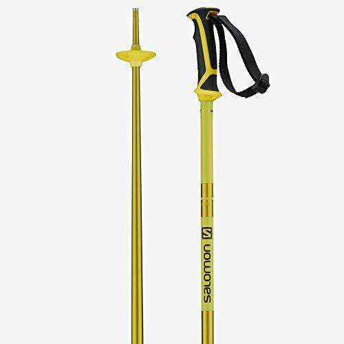 Salomon Bastoncini da Sci Unisex, 125 cm, Alluminio, ARCTIC, Giallo, L40559200