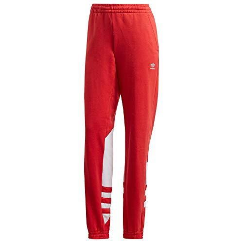 adidas Large Logo Sweat P, Pantaloni Sportivi Donna, Rosso (Lush Red/White), 44