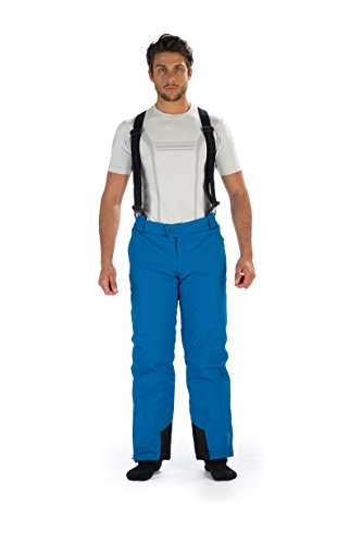Hyra MORZINE Man Sky Pant-Easy Line Ski Homme, Blue, FR : S (Taille Fabricant : IT 48 / S)