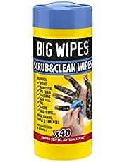 Big Wipes BGW20 Toallitas Antibacterias Industriales