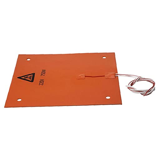 Silicone Heated Pad 3D Printer Accessories Heating Plate 310x310mm 220V 750W Multi-function Tool for Hardware Use