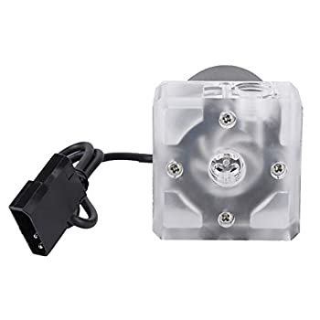 Hakeeta 800L/H High Flow Computer Water Pump,Noiseless Water Cooling Pump for CPU PC Computer Cooling System,G1/4 Thread,Waterproof Htable Performance