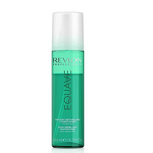 EQUAVE Volumizing Detangling Conditioner, 200 ml, entwirrender Leave-in Conditioner, 2-Phasen-Formel für sofort sichtbare Ergebnisse bei feinem & empfindlichem Haar