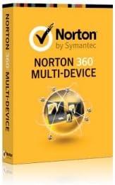Norton 360 Multi Device (v1.0) 1 User 5 Lic Full Lic No Maint