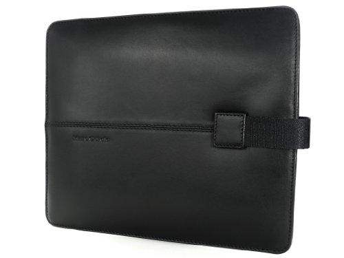Marc O' Polo I Pad Tasche aus Leder schwarz