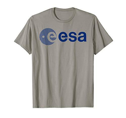 ESA Shirt, European Space Agency Fingerprint Logo T-Shirt