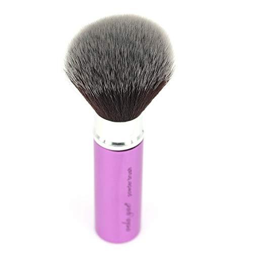 Pinceaux Maquillage Brosse Kabuki Rétractable, Ronde, Pour Maquillage En Poudre, Voyage, Minéral, Base, Blusm, Bronzer, Outil Beauté