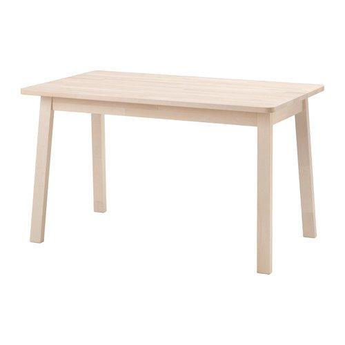 Ikea Tisch Norraker weiß Birke
