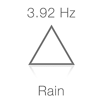 3.92 Hz Delta Wave Schumann Sub-Resonance and Rain for Deep Sleep