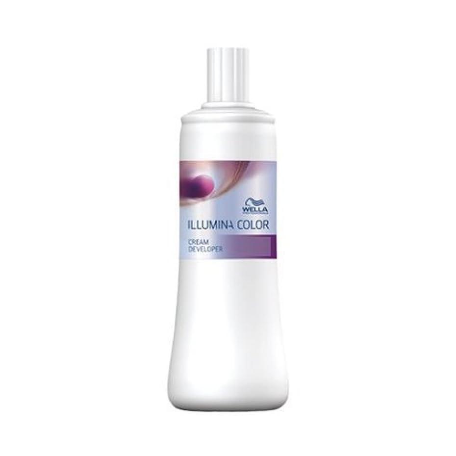 緑アカウント徴収ウエラ イルミナカラー クリーム ディベロッパー 6% 1000ml(2剤)