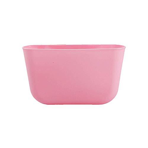 Gofeibao Schreibtisch Organizer TischmüLleimer Stationär organisieren Kunststoffboxen Mit Deckel Kinderschreibtisch-Organisator pink