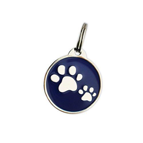 Smart Tag (für Hunde & Katzen) mit QR-Code & NFC-Chip | Finden SIE ENTLAUFENE Haustiere SCHNELL Wieder | Kleine und große Tags von BowWowMeow | Passive GPS-Haustiermarke für Hunde & Katzen
