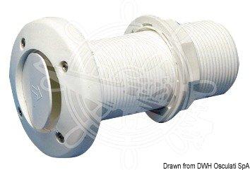 Osculati Borddurchlass 11/2 m. Rückschlagventil