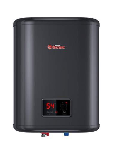 Thermex THEBOIID30SV ID 30 V Smart Boiler in Acciaio Inox, Nero