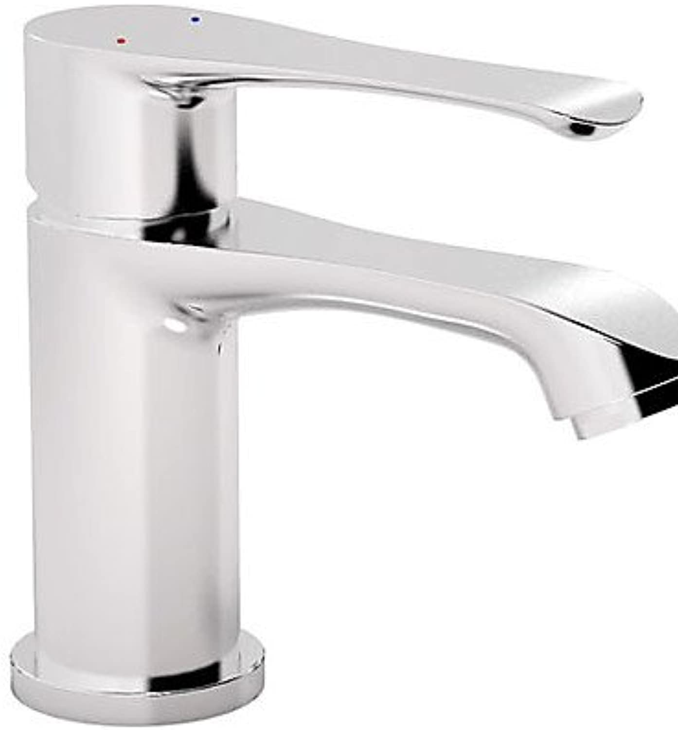HJKDGH Faucet Contemporary Chrome Finish Single Handle Centerset Bathroom Sink Faucet