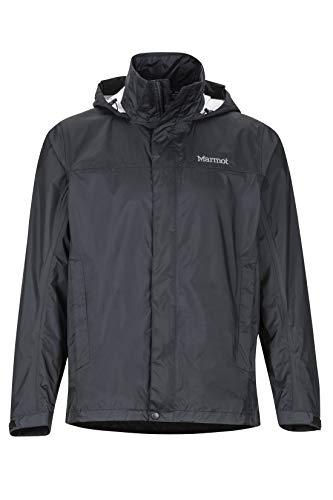 Marmot Herren Precip Jacket Tall, Black, XXXL
