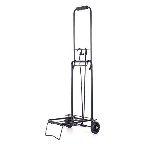 Andersen Kofferroller, Sackkarre mit Spanngurt für Koffer, Getränkekisten oder Kartons, Transportwagen klappbar, Gr M