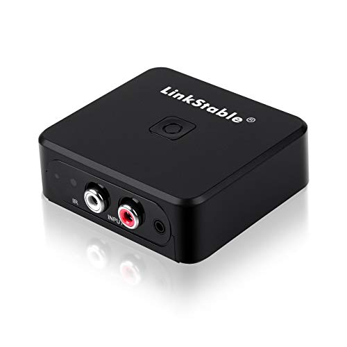 LinkStable Audio Capture Card, Cassette MP3 CD Recorder - 3.5MM RCA Audio Grabber - Digitize Audio from FM Radio, Cassette, Vinyl Turntable to MP3/ USB Drive Disk/SD Card (No need PC)