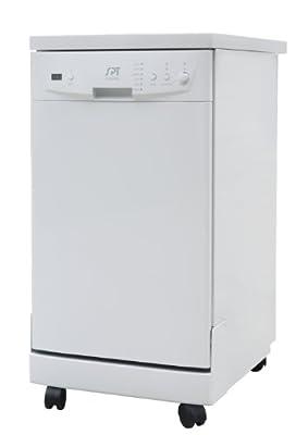 "SPT SD-9241W: Energy Star 18"" Portable Dishwasher - White"