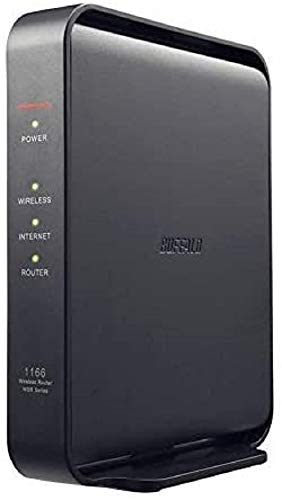 BUFFALO WSR-1166DHPL2/N 11ac ac1200 866+300Mbps IPv6 Dual Band 3LDK for 2-story Construction, Simple Packaging, Telework, Japanese Manufacturer (iPhone 12/11/iPhone SE (2nd Generation) Certified Manufacturer Operation