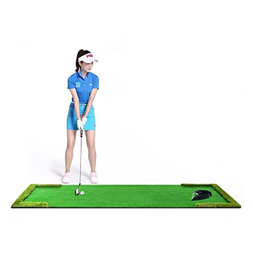 Limuchen Plegable Golf Putting Green Mat - Mat de césped sintético portátil - al Aire Libre y Interior - para Practicar y Entrenar - diseño Duradero Portátil