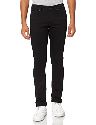Jack & Jones JJIGLENN JJICON JJ 177 50SPS Noos Jeans, Black Denim, 29/34 Homme